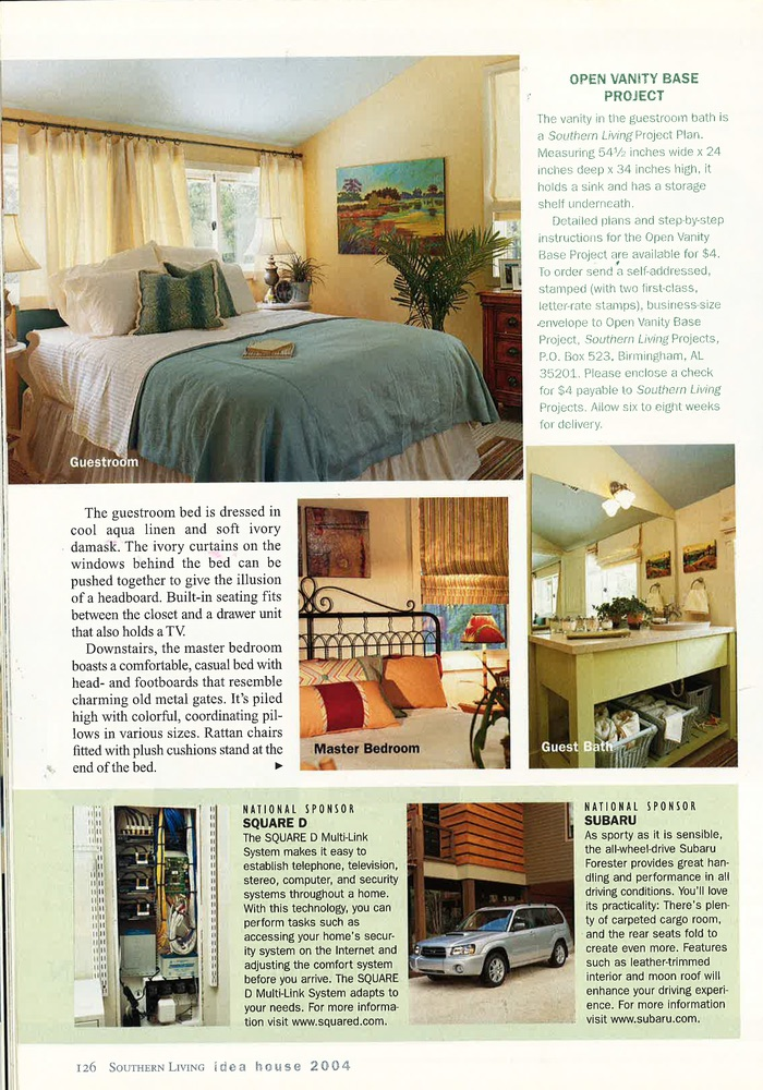 2004 Southern Living Idea House - Lovelace Interiors