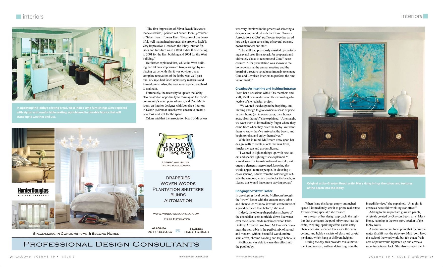 Condo Owner - Summer 2015 - Lovelace Interiors