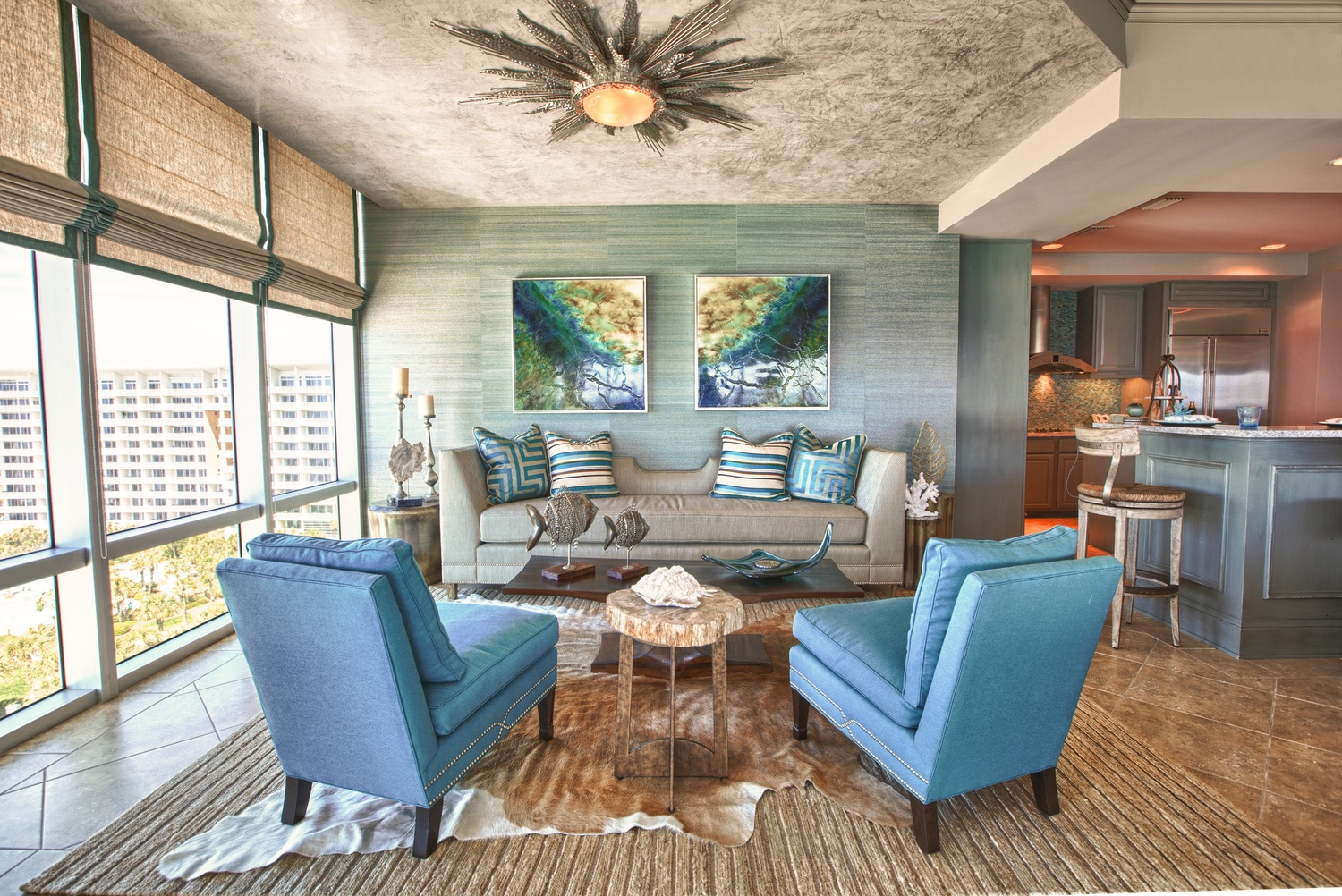 Blue Sanctuary | Lovelace Interiors