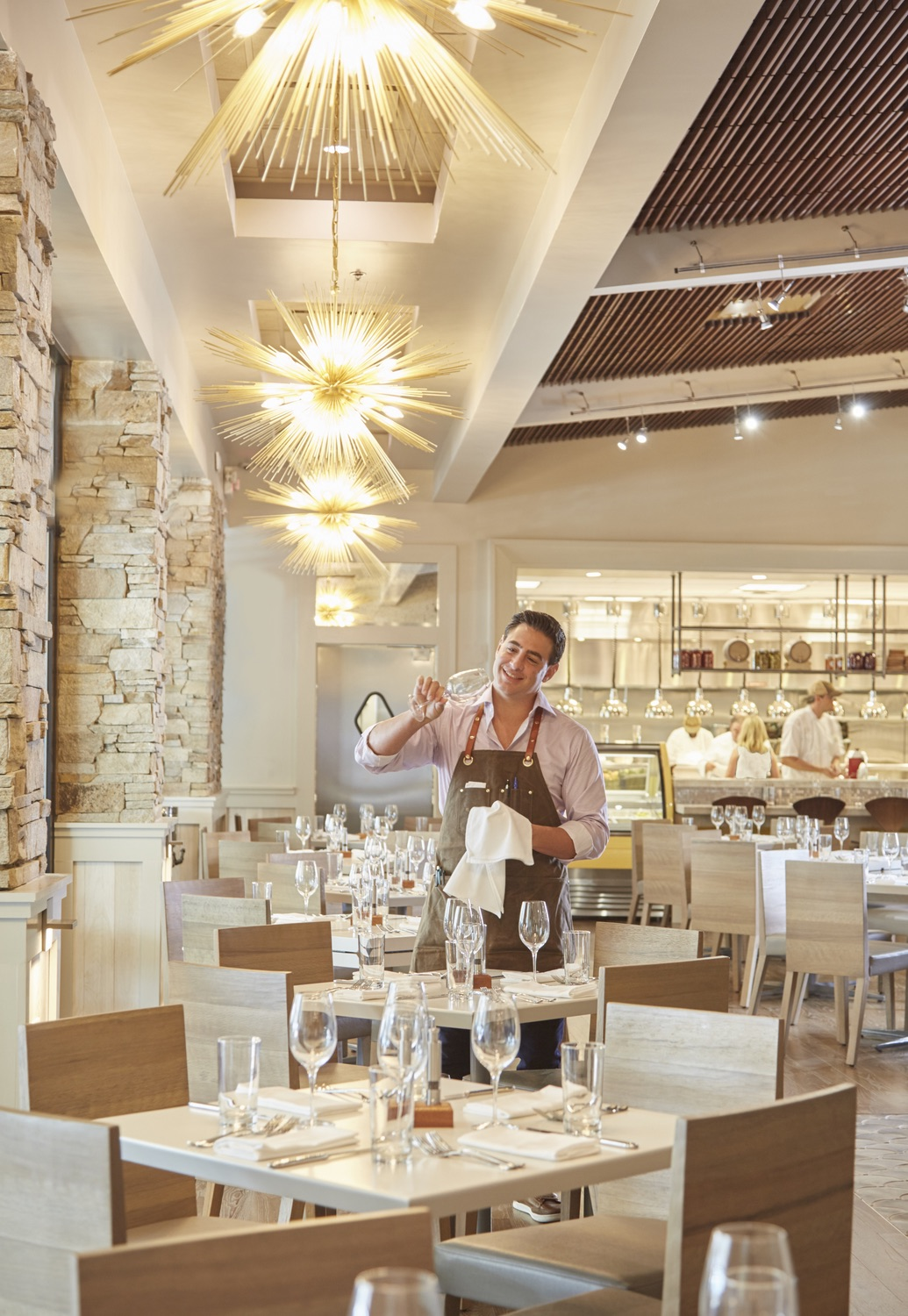 Emeril Lagasse's Coast Italian Restaurant Interior - Lovelace Interiors