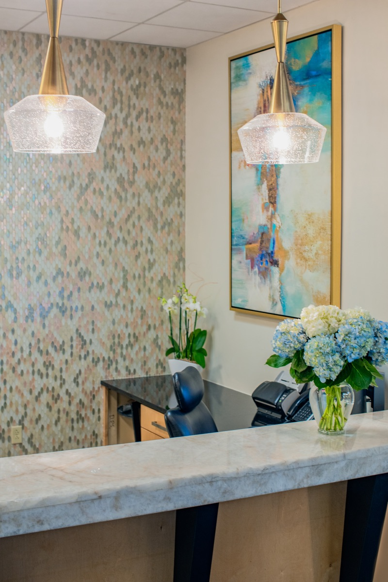 Lovelace Interiors - Destin Plastic Surgery, Commercial Interior Design